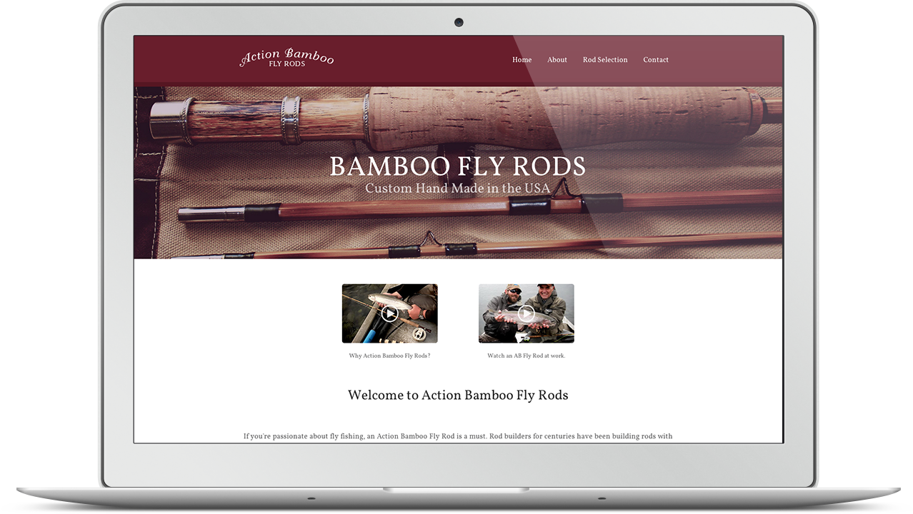 Action Bamboo Fly Rods